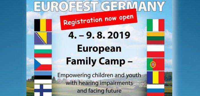 Inscriere – Tabara Europeana pentru familiile cu copii hipoacuzici – Germania, 4-9.08.2019